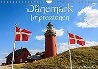Daenemark Impressionen (Wandkalender 2022 DIN A4 quer): Daenemarks Landschaften und Sehenswuerdigkeiten (Monatskalender, 14 Seiten )