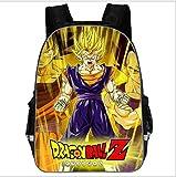 pZgfg Anime Dragon Ball Z Super Backpack Niños Mochilas Escolares Adolescente Niños Niñas Mochila Es...