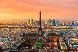 Eiffelturm Paris Stadt XXL Wandbild Foto Poster P0285