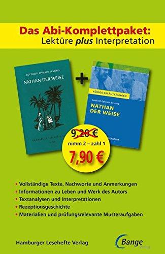 Nathan der Weise: Das Abi-Komplettpaket. Lektüre plus
