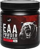 nu3 EAA en polvo – 400g sabor sandía – 8 aminoácidos esenciales – Suplemento deportivo para incrementar fuerza, resistencia y musculación - Contiene los tres aminos BCAA - Rápida absorción