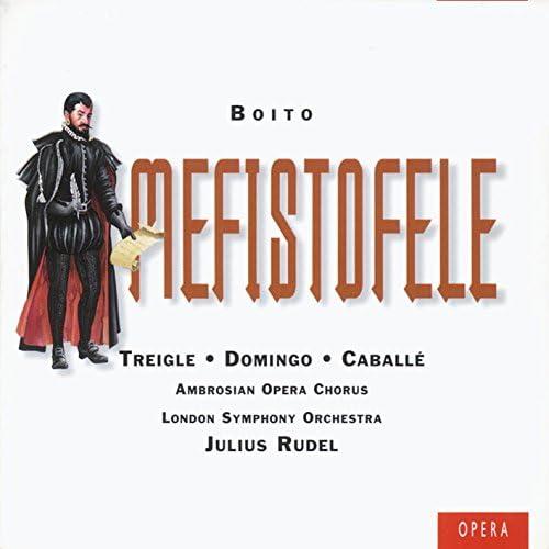 Placido Domingo/Julius Rudel/Norman Treigle/Montserrat Caballé