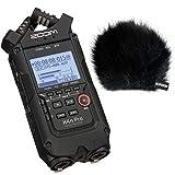 Zoom H4N Pro Teléfono Recorder + Keepdrum WSBK piel Protector de viento