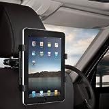 CAPDASE 日本正規品 Car Headrest Mount Holder for iPad (第3世代) / iPad 2 / iPad / Android tablet / Tablet PC カー ヘッドレスト マウントホルダー (後部座席用 車載アダプター) HRAPIPAD-CH01