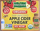 (6pk bottles/2oz each) White House Organic Apple Cider Vinegar ON-THE-GO