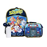 Boys 4PC Licensed Paw Patrol Backpack and Lunch Set, Paw Patrol, Size One Size