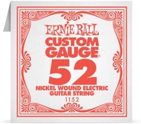 Ernie Ball online shop Guitar Quantity limited Strings EB WOUND SINGLE NICKEL 1152 .052
