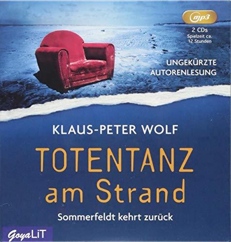 Totentanz am Strand: Ungekürzte Autorenlesung (Dr. Sommerfeldt)