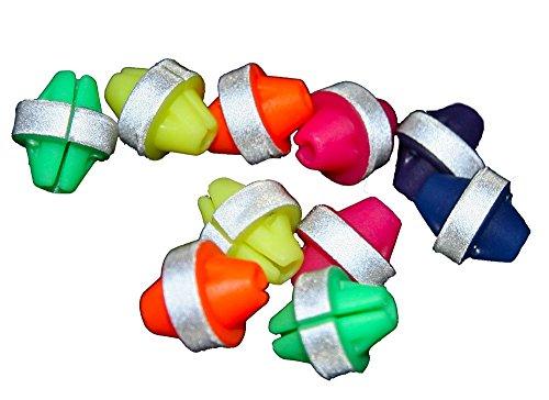 36reflektierende Perlen für Fahrradspeichen (zum Aufstecken)