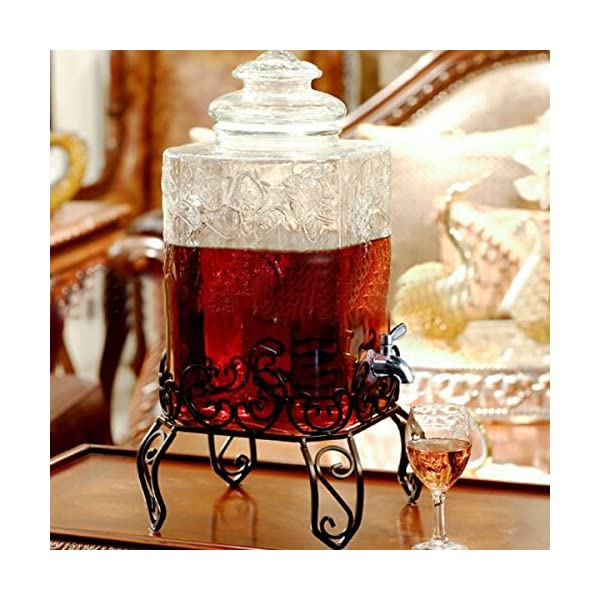 WOVELOT Grifo Llave de Acero Inoxidable Grifo de Cerveza de Barril para