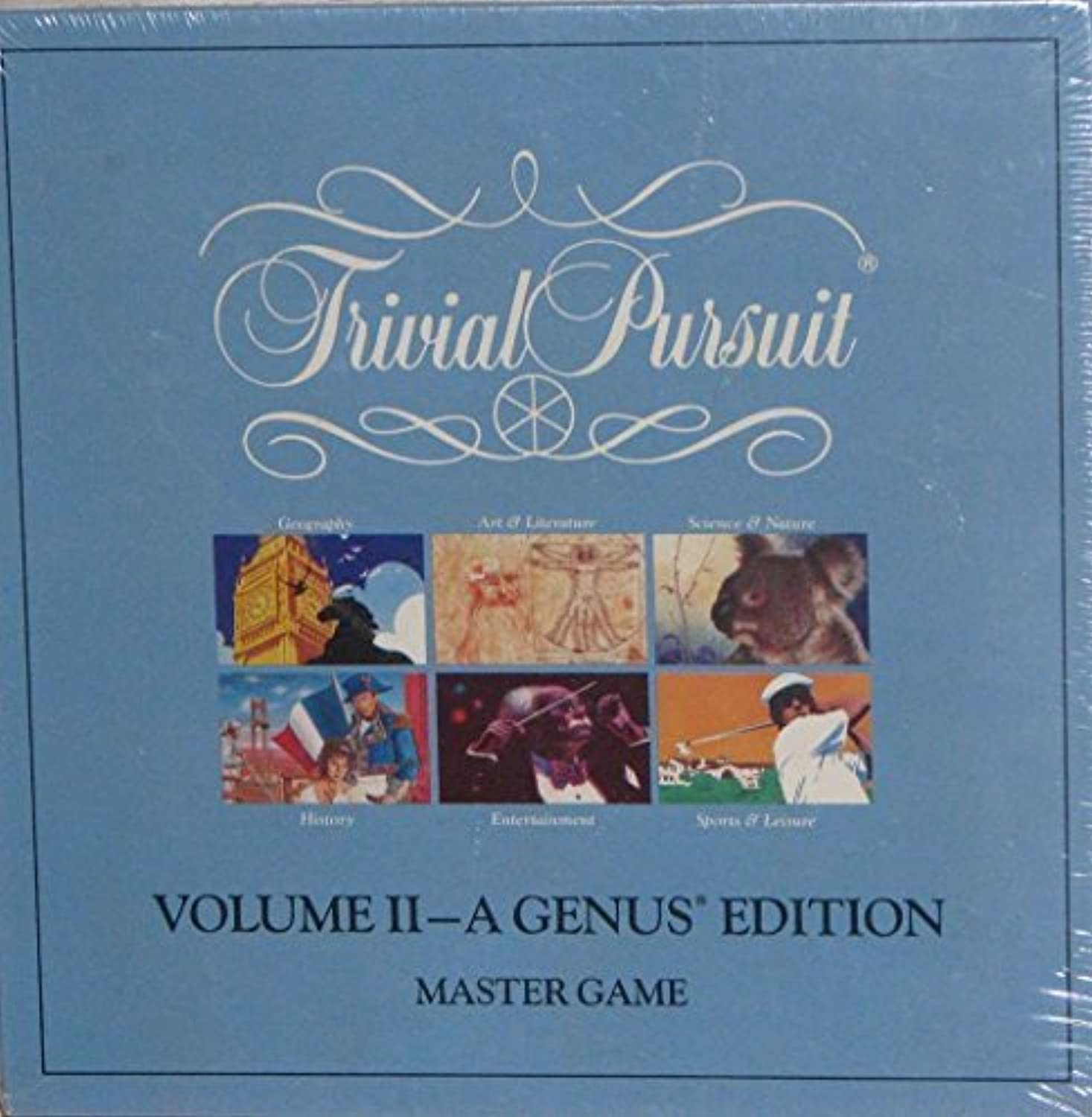 Trivial Pursuit Volume II  A Genus Edition, Master Game by Trivial Pursuit