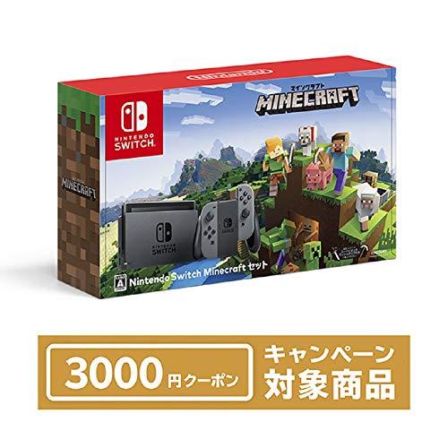 Nintendo Switch Minecraft (マインクラフト) セット+ニンテンドーeショップでつかえるニンテンドープリペ...
