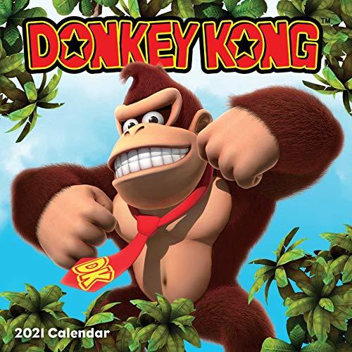 Donkey Kong 2021 Calendar