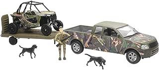 New Ray Toys Camo Truck with Polaris RZR XP1000 Hunting Set