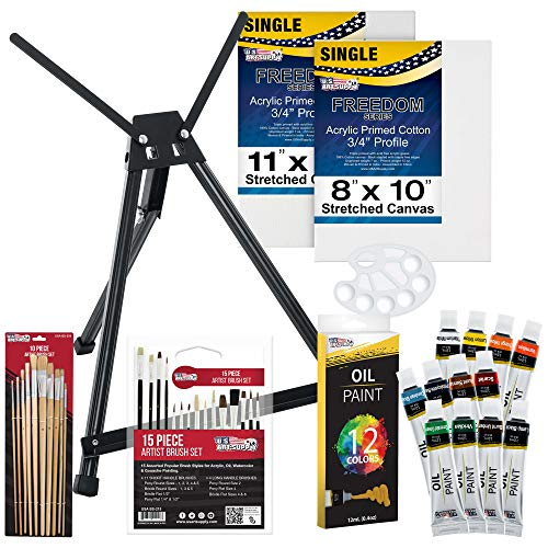 U.S. ART SUPPLY Oil Painting Set