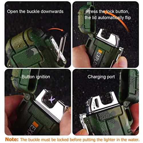 lcfun Waterproof Outdoor Lighter