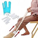 Enfile-bas et chaussettes courbé pour personnes âgées/handicapped People