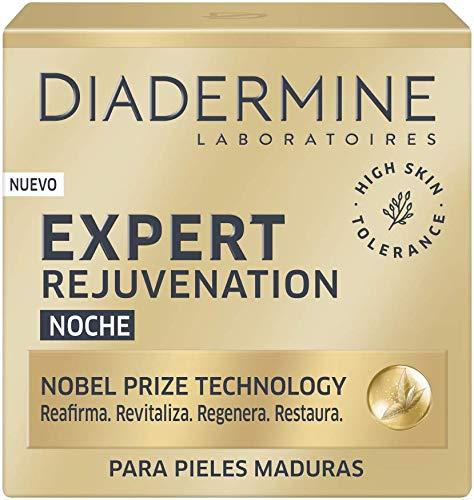 Diadermine - Expert Rejuvenecedor Crema Noche multi acción - 50ml - Para pieles maduras y exigentes - Piel intensamente nutrida