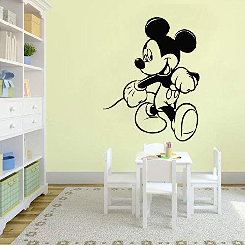 Kindergarten decoración de la pared arte de dibujos animados pegatinas de pared habitación de los niños decoración del hogar anime cartoon girl boy wallpaper