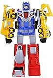 JINGZHUN Juguetes de deformación, Deformación de imán Juguete Hércules Cinco Automóvil Ingeniería Combinación de vehículos One Set Robot Boy Child