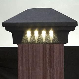 DEKOR Rondi LED Post Cap Light, 3-1/2