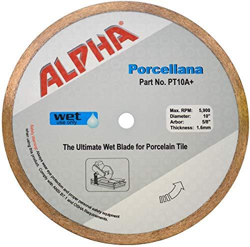 "10"" Alpha Porcellana Wet Diamond Blade"
