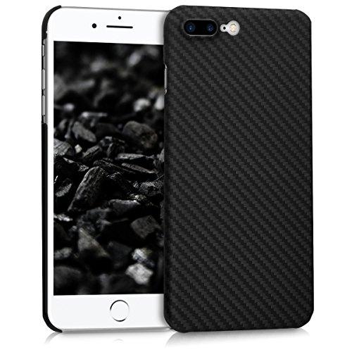 kalibri Cover Compatibile con Apple iPhone 7 Plus / 8 Plus - Custodia in aramide Cover Ultra Resistente - Backcover Protezione Case