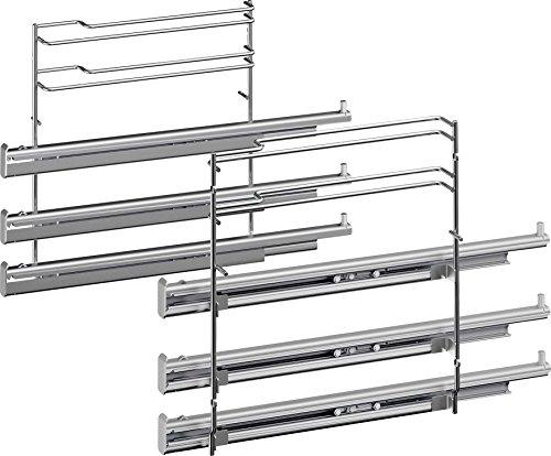 Bosch HEZ638370 Zubehör für Backöfen / 3-fach Teleskopvollauszug / Edelstahl