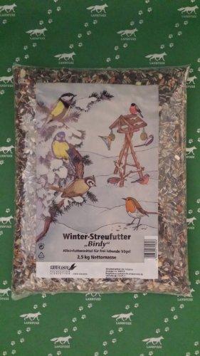 Winter Streufutter 2,5 kg Vogelfutter für alle Gartenvögel