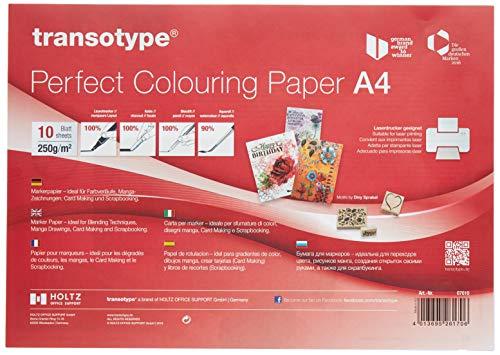COPIC 07010 Marker Papier DIN A4, 10 Blatt