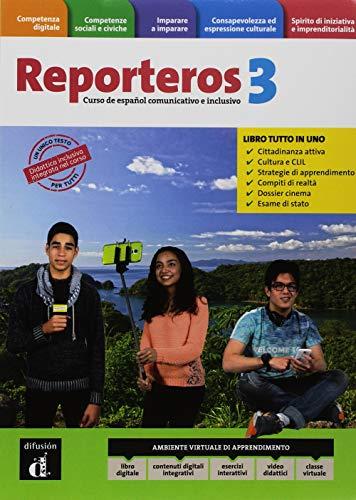 Reporteros Italia. Libro del alumno. Cuaderno. Per la Scuola media. Con e-book. Con espansione online [Lingua spagnola]: Vol. 3