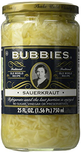 Bubbies Sauerkraut, 25 oz