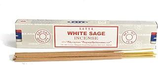 Satya Home Fragrance Incense White Sage Meditation Prayer Sticks 15gm