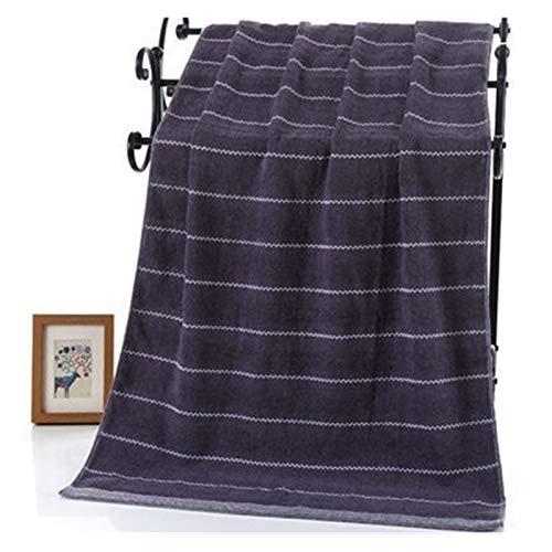 WYFDC Toallas de baño Cuarto Baño Fijado For Adultos 100% Algodón 70x140cm Baño 35x75CM Cara Mano Blanca Azul Café Terry Toallita, Toallas Se (Color : Blue, Size : 70X140CM Bath Towel)