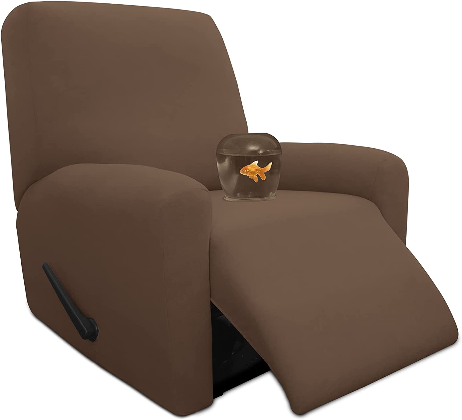 Easy-Going Philadelphia Mall 4 Pieces 100% Dual Waterproof Max 63% OFF Stretch Cover Recliner