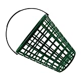 Wakauto Golf Ball Basket, Golfball Container with Handle, Portable Golf Ball Holder Golfball Bucket Contain Stadium Accessories (Capacity 100pcs)