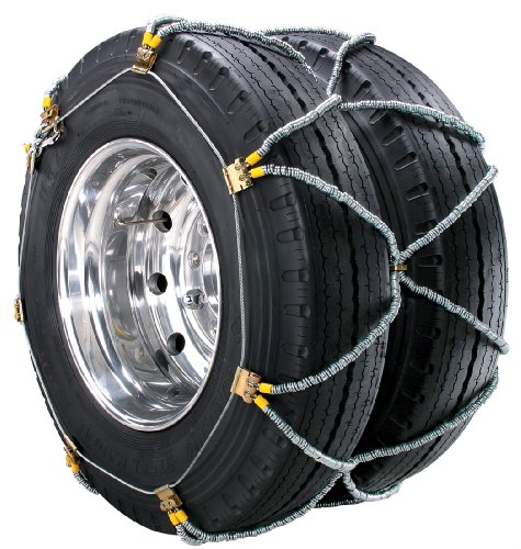 Security Chain Company ZT970 Super Z Dual and Triple Heavy Duty Truck Tire Traction Chain with QuikDraw Tensioning - Pack of 1