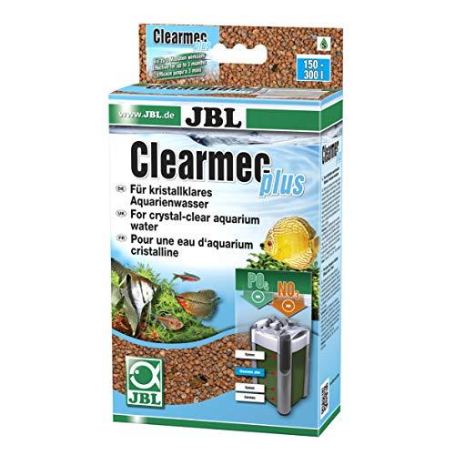 JBL Clearmec plus 62395, Filtermasse zur Entfernung Nitrit, Nitrat und Phosphat aus Aquarienwasser, 450 g
