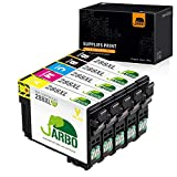 JARBO Remanufactured Ink Cartridge Replacement for Epson 288 288XL T288 T288XL, Use with Expression Home XP-440 XP-430 XP-330 XP-340 XP-434 XP-446 Printer (2 Black, 1 Cyan, 1 Magenta, 1 Yellow)