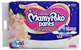 MamyPoko Pants Extra Absorb Diapers, Large (Pack of 46)