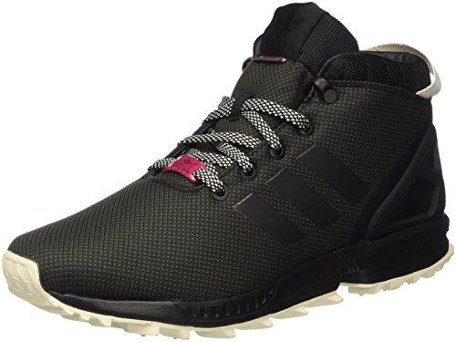 adidas Herren Zx Flux 5/8 Tr Turnschuhe, Schwarz (Cblack/Utiblk/Cwhite), 44 EU