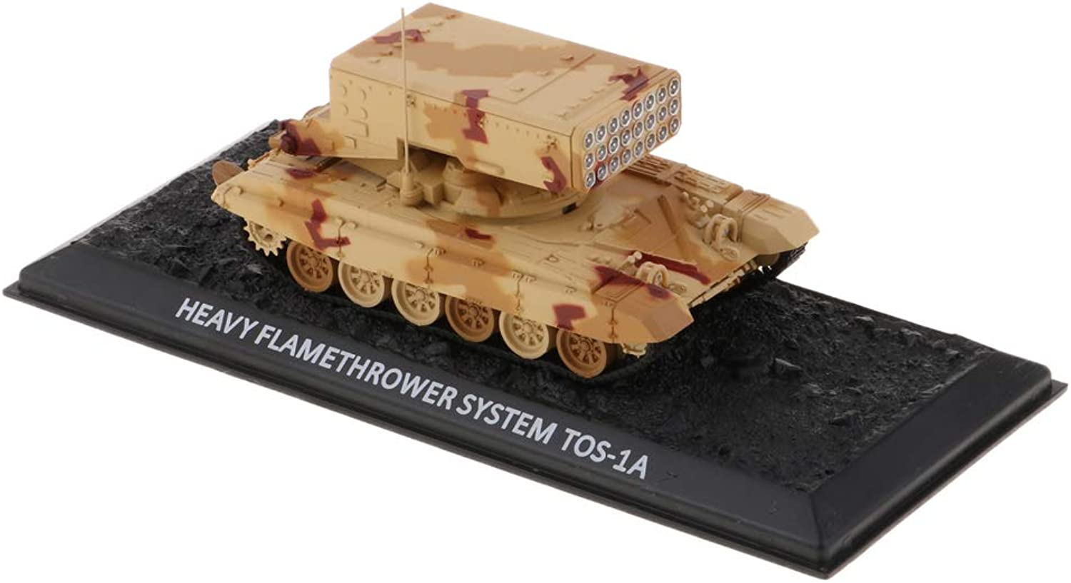 Flameer 1 72 Soviet TOS-1A Alloy Tank Army Model Military Sand Table Toys Kids Adults Collectible Gifts