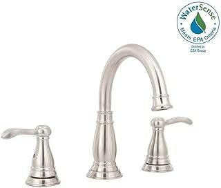 Delta Porter 8 Inch Widespread 2-Handle Bathroom Faucet Brushed Nickel 35984LF-BN-ECO