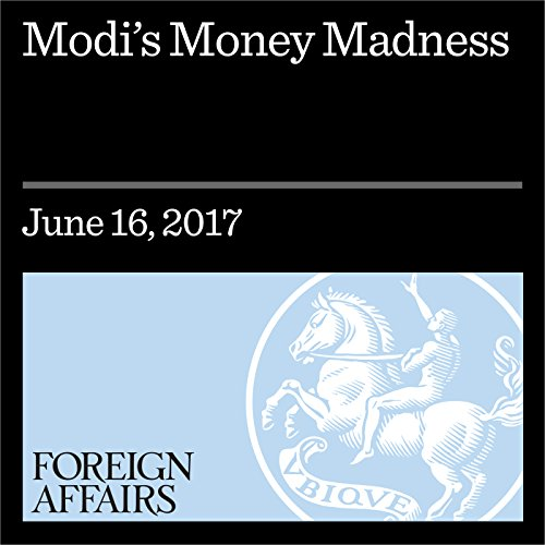 Modi's Money Madness audiobook cover art