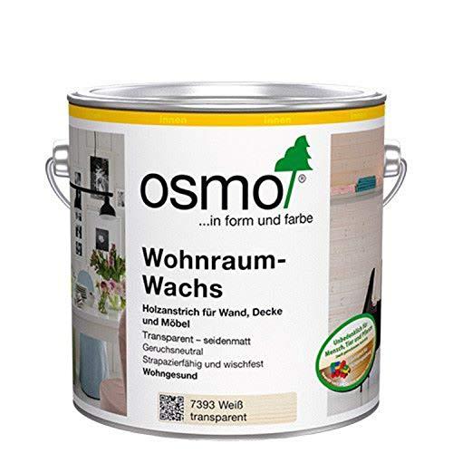 Osmo Wohnraum-Wachs Weiß Transparent 0,75 l - 13100226