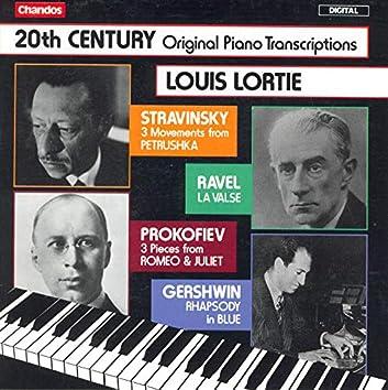 Stravinsky: 3 Movements From Petrushka / Ravel: La Valse / Gershwin: Rhapsody in Blue