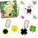 Orinal Trainer Set Incluye: 1x higiénico pegatinas sol + 3paquetitos) para eInk vida con diseño abejas + 90passende–pegatinas de recompensa