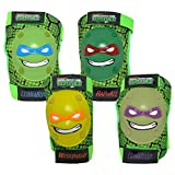 Bell TMNT Protective Knee & Elbow Padset