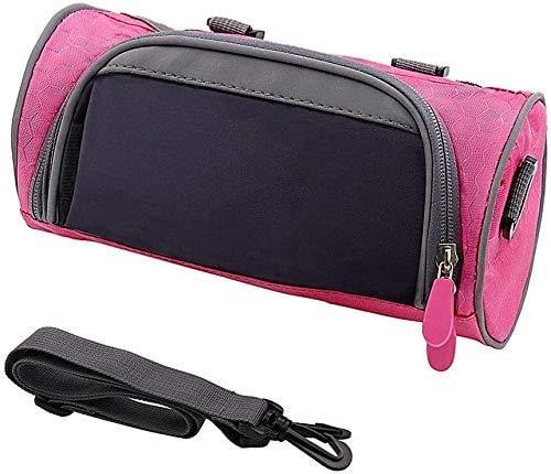 Sportausrüstung Outdoor Radsport-Fahrrad-Sattel-Beutel-Sitzhecktasche for Outdoor-Begeisterte (Color : Rose)