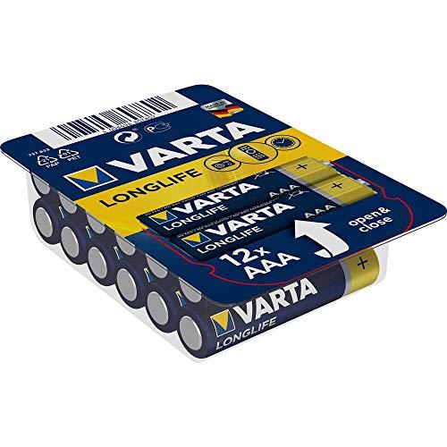 Varta 04103 301 112 Alkaline Batterie Longlife Big Box, Micro (AAA)